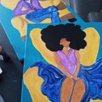 BASHAY PARTY PAINTINGS