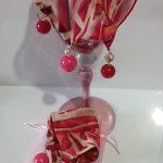 Raspberry Pink & Tan